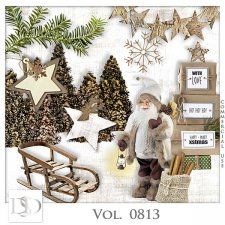 Vol. 0813 Winter Christmas Mix by D's Design