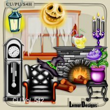 CU Vol 542 Halloween by Lemur Designs