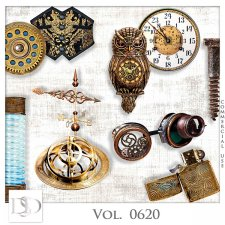 Vol. 0620 Steampunk Mix by D's Design