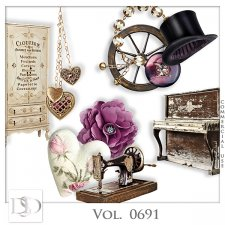 Vol. 0691 Vintage Mix by D's Design
