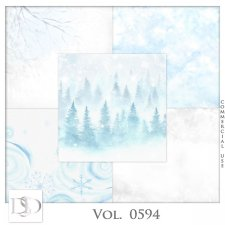 Vol. 0594 Winter Papers by D's Design