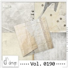 Vol. 0190 Vintage Papers by Doudou Design