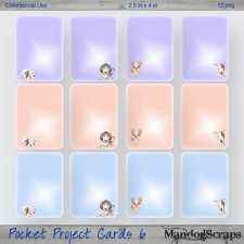 Pocket Project Cards 6 by Mandog Scraps