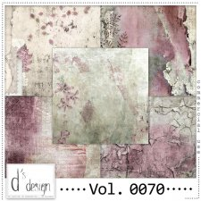 Vol. 0070 Vintage Autumn papers by Doudou Design