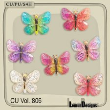 CU Vol 806 Butterfly by Lemur Designs
