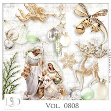 Vol. 0808 Winter Christmas Mix by D's Design