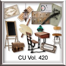Vol. 420 Vintage School Mix by Doudou Design