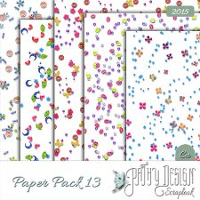 Paper Pack 13 Pathy Design