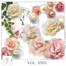 Vol. 0501 Floral Mix by D's Design