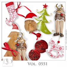 Vol. 0551 Christmas Mix by D's Design