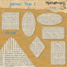 Journal Tags 2 by Mandog Scraps