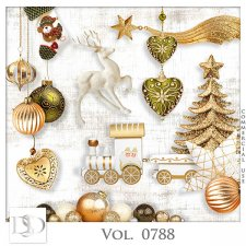 Vol. 0788 Winter Christmas Mix by D's Design