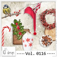 Vol. 0116 Christmas Mix by Doudou Design