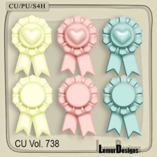 CU Vol 738 Labels by Lemur Designs