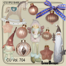 CU Vol 704 Christmas by Lemur Designs