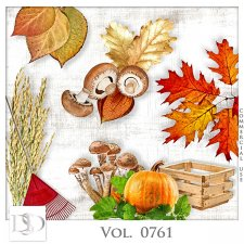 Vol. 0761 Autumn Nature Mix by D's Design