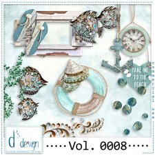 Vol. 0005 to 0008 Beach Mix by Doudou Design