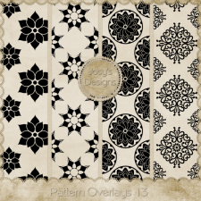 Pattern Overlays 13 by Josy