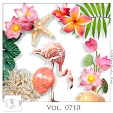 Vol. 0710 Tropical Sea Mix by D's Design