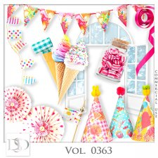 Vol. 0363 Party Mix by D's Design
