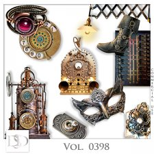 Vol. 0398 to 0401 Steampunk Mix by D's Design
