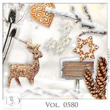 Vol. 0579 to 0583 Winter Mix by D's Design