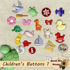 Children Novelty Buttons