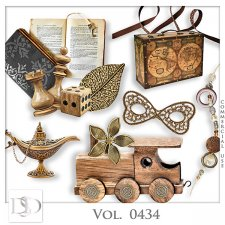 Vol. 0433 to 0435 Vintage Mix by D's Design