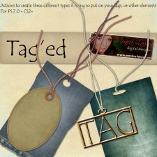 Tag'ed by Monica Larsen