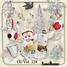 CU Vol 228 Christmas deco by Lemur Design