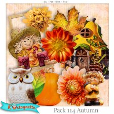 Pack 114 autumn by Kastagnette
