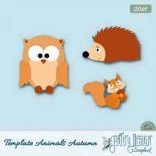 Template Animals Autumn PathyDesign