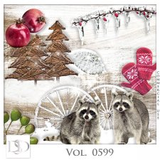 Vol. 0599 Winter Mix by D's Design
