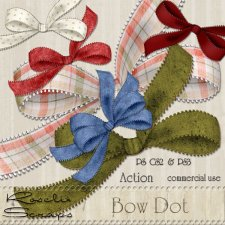 Action - Bow Dot by Rose.li