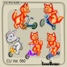 CU Vol 560 Animals by Lemur Designs