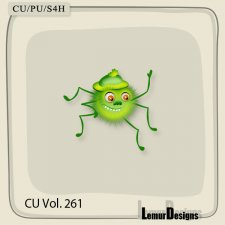 CU Vol 261 Insect Spider by Lemur Designs