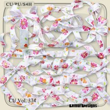 CU Vol 374 Bow Ribbon by Lemur Designs
