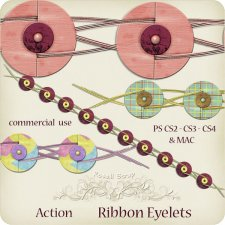 Action - Ribbon Eyelets by Rose.li