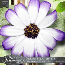 Designer Stash Vol 173 - My Dream Garden No. 1 - by Feli Designs