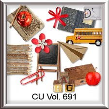 Vol. 691 School Mix by Doudou Design