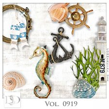Vol. 0919 Summer Sea Mix by D's Design