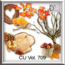 Vol. 709 Autumn Mix by Doudou Design