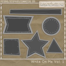 Write On Me Vol 1