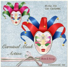 Action - Carnival Mask by Rose.li