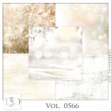 Vol. 0566 Winter Papers by D's Design