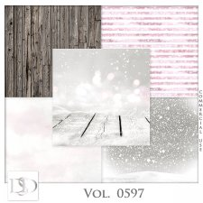 Vol. 0597 Winter Papers by D's Design