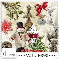 Vol. 0090 Christmas Mix by Doudou Design