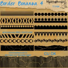 Border Bonanza 4 by Mandog Scraps