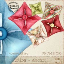 Action - Sachet I by Rose.li