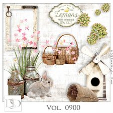 Vol. 0900 Spring Nature Mix by D's Design